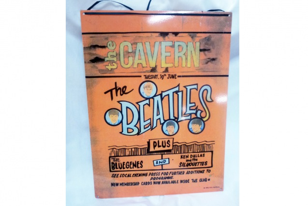 The Beatles Concert Poster