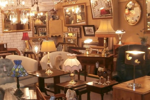One of over 100 individual dealers at GB Antiques Centre