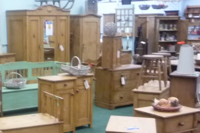 Lots of beautiful pine furniture